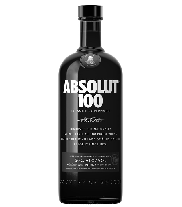 Absolut 100 Vodka  (50 % vol., 1,0 Liter) von Absolut