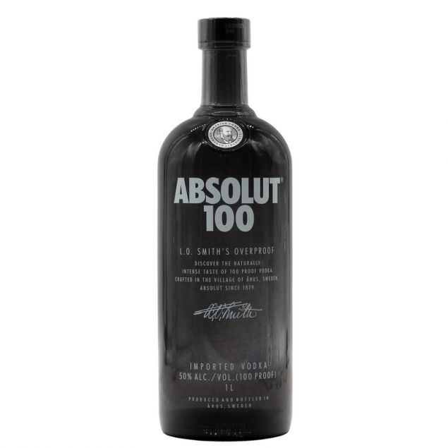 Absolut 100 Vodka 1 L 50%vol von Absolut