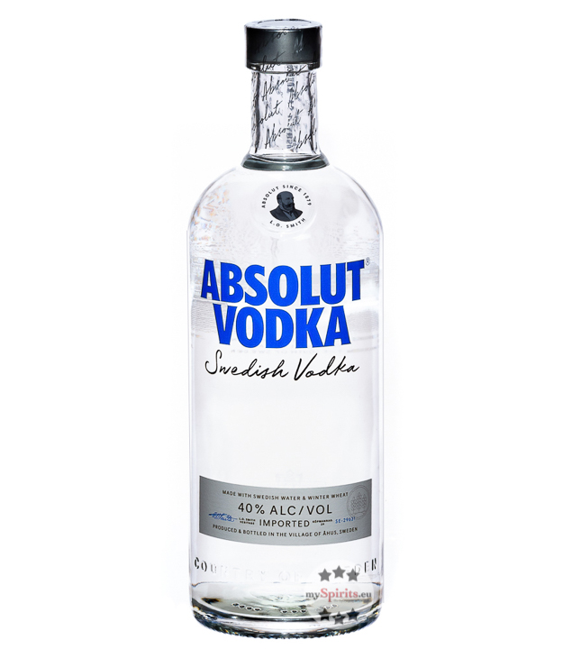 Absolut Vodka  (40 % vol., 1,0 Liter) von Absolut