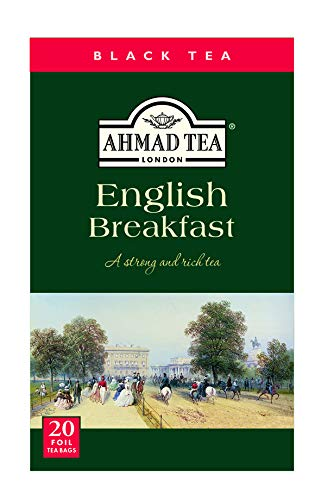 Ahmad Tea English Breakfast Tea, 20 Betel Tee mit Aroma Schutz von Ahmad Tea