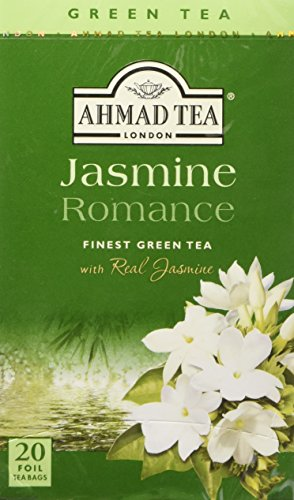Ahmad Tea - Jasmine Romance Flavoured Green Tea 20 Bags - 40g von Ahmad Tea