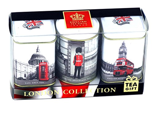 "English Teas in Mini Caddies - ""London Collection"", 3 x 25g Mini Tea Caddies ...' von Ahmad Tea"