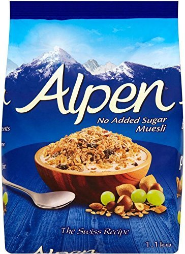 Alpen No Added Sugar Muesli 1.1kg von Alpen