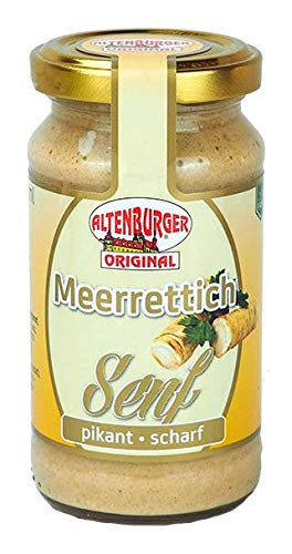 Meerrettich Senf (200ml Glas) von Altenburger Original