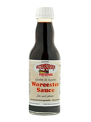 Original Worcester Sauce - 200ml - Glutenfrei, Vegan - Worcestershire Sauce von Altenburger Original