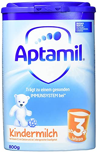 Aptamil 3+ Kindermilch, 6er Pack (6x 800 g) von Aptamil
