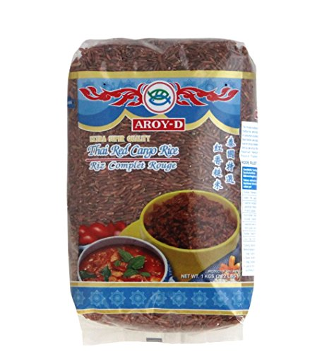 [ 1kg] AROY-D Roter Reis / Thai Red Cargo Rice / Extra Super Quality von Aroy-D