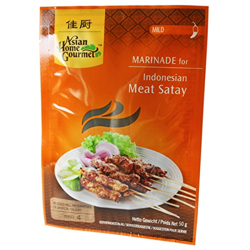 AHG Marinade fuer Meat Satay 50g von Asian Home Gourmet