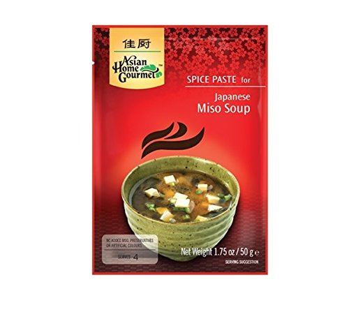ASIAN HOME GOURMET JAPANISCHE MISO SUPPE 50 g von Asian Home Gourmet