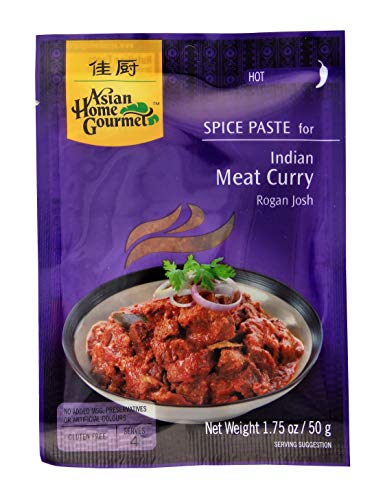 ASIAN HOME GOURMET, Spice Paste For Indian Meat Curry, 50g von Asian Home Gourmet