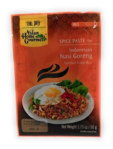 ASIAN HOME GOURMET, Spice Paste For Indonesian Nasi Goreng, 50g von Asian Home Gourmet