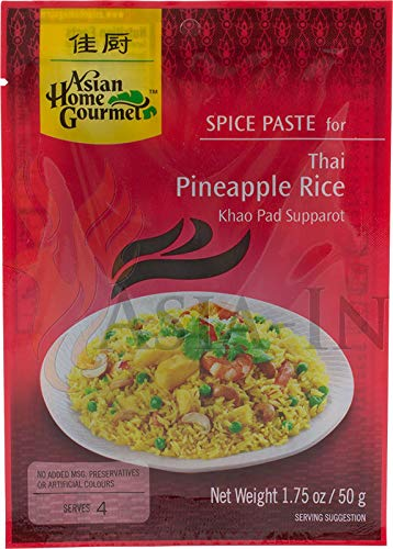 ASIAN HOME GOURMET, Spice Paste For Thai Pineapple Rice, 50g von Asian Home Gourmet