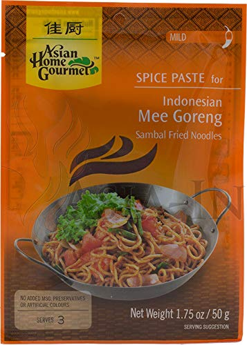 Asian Home Gourmet Würzpaste für Mee Goreng Thailand 50g von Asian Home Gourmet