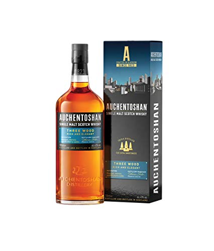 Auchentoshan Three Wood Single Malt Scotch Whisky (1 x 0.7 l) von Auchentoshan