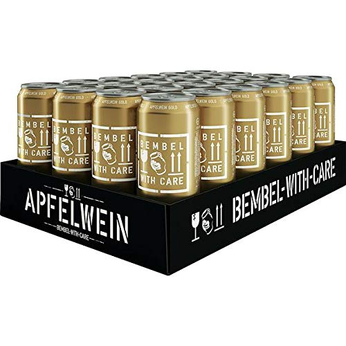 BEMBEL-WITH-CARE Apfelwein-Gold (24 x 500 ml) von BEMBEL-WITH-CARE