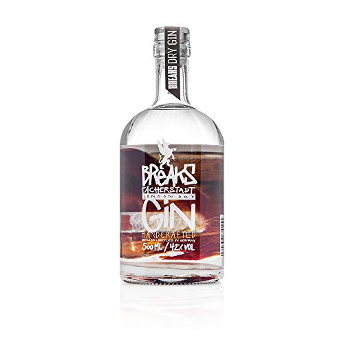 Breaks Sonderedition 4 Elemente - ERDE - *Limited Edition* - London Dry Gin - Handcrafted - 42% vol - 1 x 0,5 L von Breaks