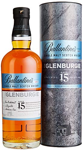 Ballantine's THE GLENBURGIE 15 Years Old Single Malt Scotch Whisky mit Geschenkverpackung (1 x 0.7 l) von Ballantine's