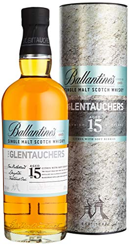 Ballantine's THE GLENTAUCHERS 15 Years Old Single Malt Scotch Whisky mit Geschenkverpackung (1 x 0.7 l) von Ballantine's