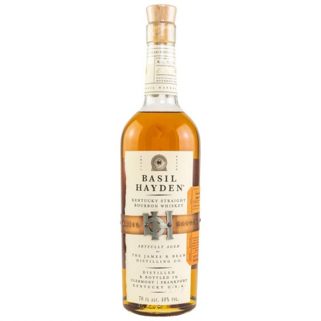 Basil Haydens Kentucky Straight Bourbon Whiskey 0,7 L 40%vol von Basil Haydens