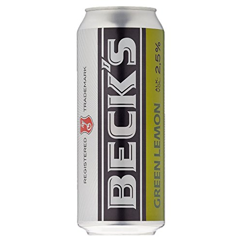 Beck´s Green Lemon, 24er Pack, (24 x 500 ml) von Beck's Green Lemon