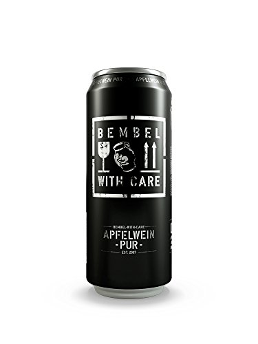 Bembel with Care 24 x 0,5L Apfelwein Pur von Bembel with Care