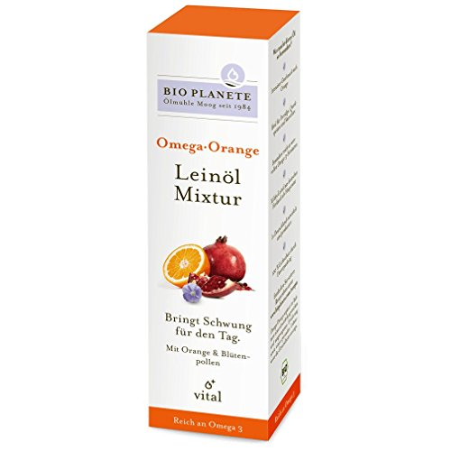 Bio Planete - Omega Orange Leinöl-Mixtur - 100 ml von Bio Planète