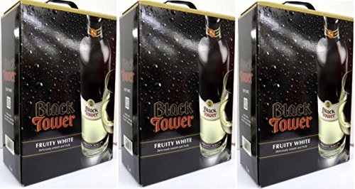 3 x BLACK TOWER FRUITY WHITE Bag in Box 3 Liter von Black Tower