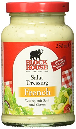 Block House Salat Dressing French, 8er Pack (8 x 250 g) von Block House