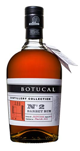 Botucal No2 Barbet Rum Rhum 0,70l (47% Vol) exklusive Sonderausgabe special limited edition distillery collection Ron de Venezuela - [Enthält Sulfite] von Mixcompany.de Bar & Glas