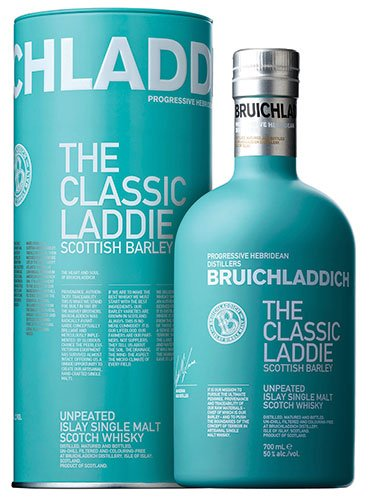 Bruichladdich - The Classic Laddie Scottish Barley Single Malt Scotch Whisky, Schottland - 700 ml von Bruichladdich