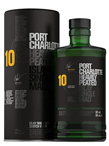 Port Charlotte 10 Year Old Single Malt Whisky, 70cl von Bruichladdich