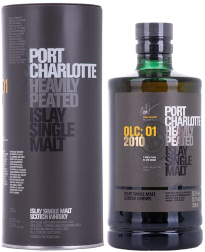Port Charlotte OLC: 01 2010 Heavily Peated Islay Single Malt Scotch Whisky 0,7 L von Bruichladdich