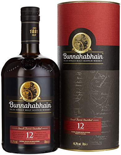 Bunnahabhain Islay Single Malt Scotch Whisky 12 Jahre (1 x 0.7 l) von Bunnahabhain