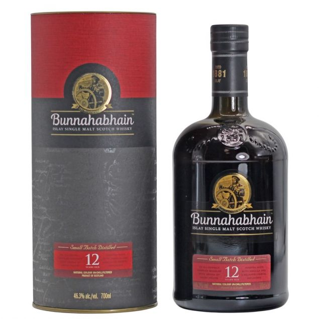 Bunnahabhain 12 Years Old 0,7 Ltr. 46,3%vol von Bunnahabhain