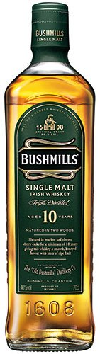 Bushmills - 10 Years Old Single Malt Irish Whiskey, Irland - 700 ml von Bushmills