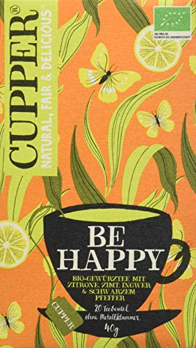 Cupper Tea Be Happy, 1 Pack (40 g) von CUPPER