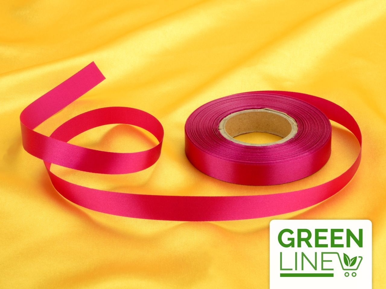 Satinband purpur 14mm, 30 Meter GREENLINE von Cake-Masters