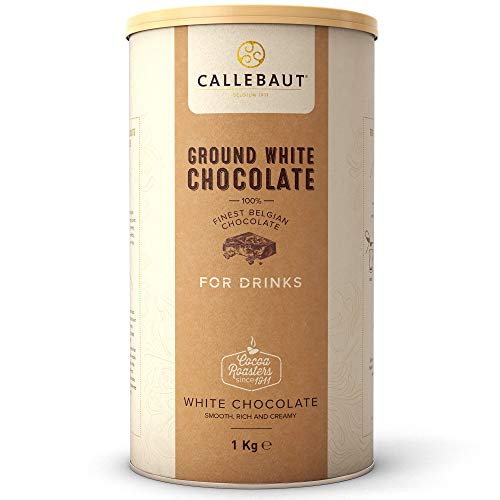 Callebaut Ground White Chocolate For Drinks - Pack Size = 6x1kg von Callebaut