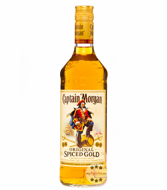 Captain Morgan Spiced Gold 0,7l (35 % vol., 0,7 Liter) von Captain Morgan Rum Company