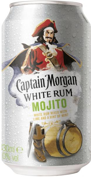 Captain Morgan White Rum Mojito (Einweg) von Captain Morgan