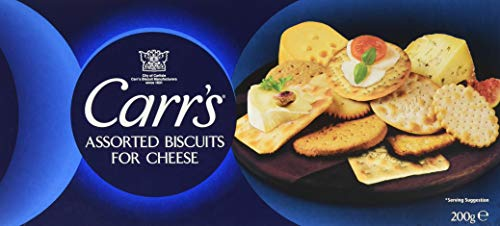 Carr's Assorted Biscuits for Cheese, 6er Pack (6 x 200 g) von Carrs