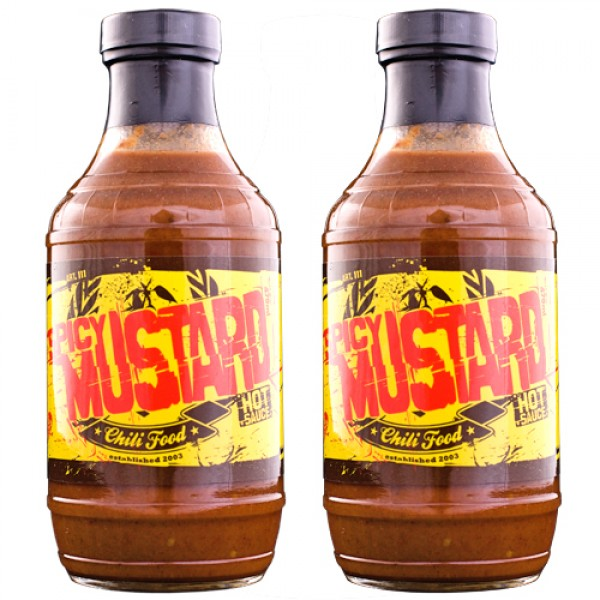 Spicy Mustard Sauce 2er Sparset von Chili Food