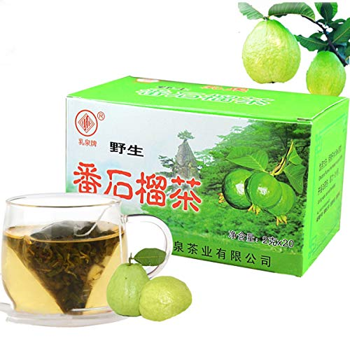 40g (0.09BL) Guava Leaves Tea Chinesischer Tee New Scented Tea Gesunder Tee New Tea Flowers Tee Grüner Tee Green Food Kräutertee von ChinaShoppingMall