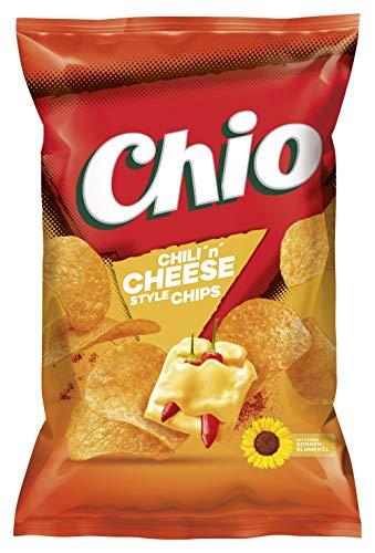 Chio Chips Chili ´n´ Cheese Style, 10er Pack (10 x 175 g) von Chio