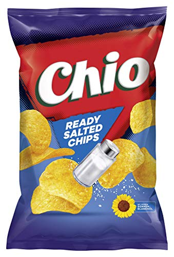 Chio Ready Salted Chips, 10er Pack (10 x 175 g) von Chio