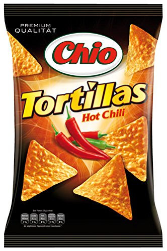 Chio Tortillas Hot Chili - 125g - 4x von Chio