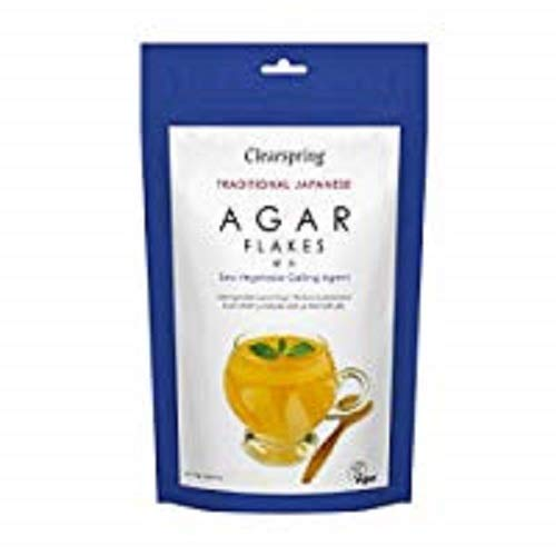 Clearspring - Traditional Japanese Agar Flakes - 28g von Clearspring
