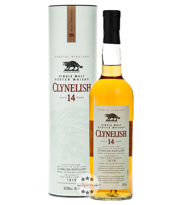 Clynelish 14 Jahre Single Malt Scotch Whisky (46 % vol., 0,7 Liter) von Clynelish Distillery