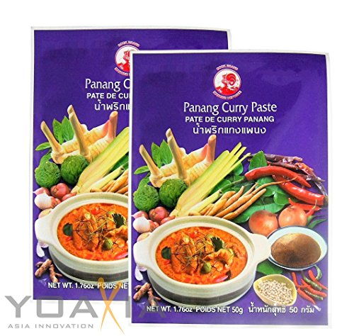 [ 2x 50g ] COCK Panang Currypaste / Panang Curry Paste von Cock