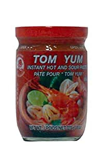 Cock Instant Paste Tom Yum, 4er Pack (4 x 227 g Packung) von Cock